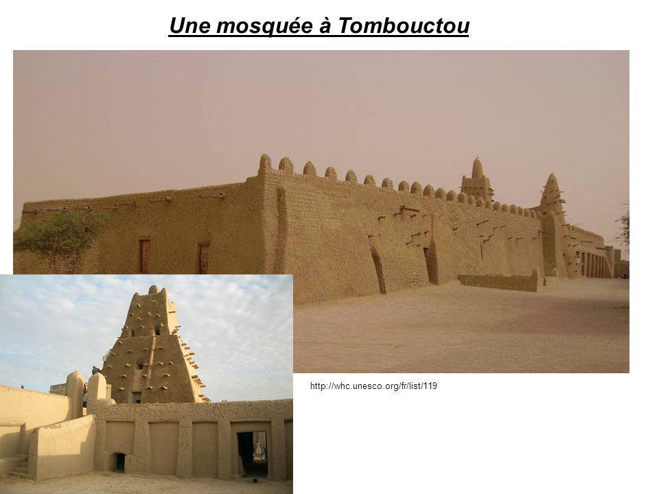 Une mosquée à Tombouctou