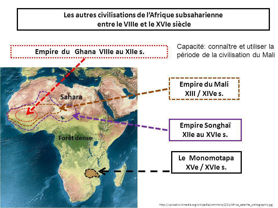 Les autres civilisations de l'Afrique subsaharienne