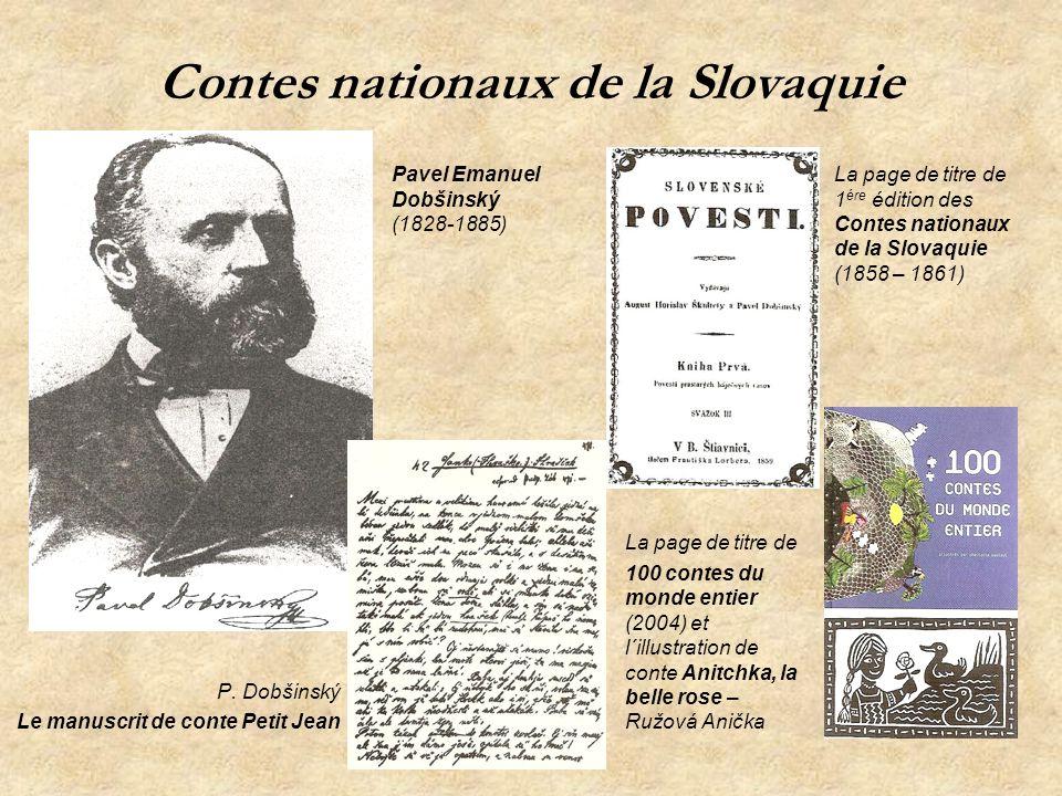 Contes nationaux de la Slovaquie
