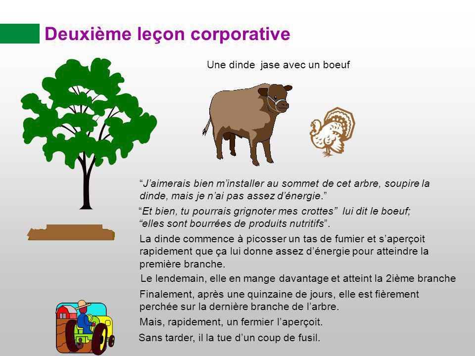 Deuxième leçon corporative