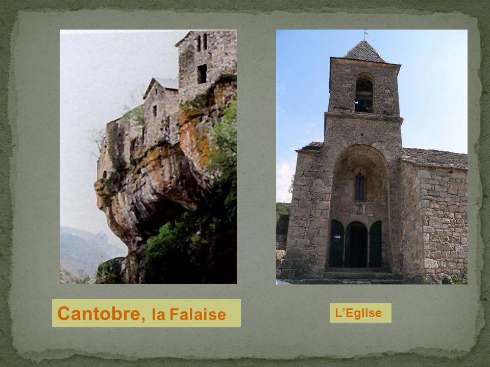 Cantobre, la Falaise L'Eglise