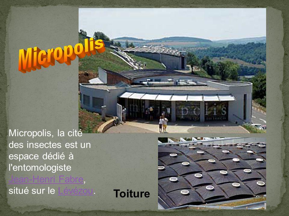 Micropolis Micropolis, la cité des insectes est un espace dédié à l entomologiste Jean-Henri Fabre, situé sur le Lévézou.