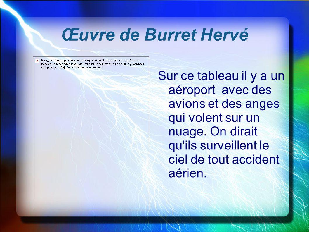 Œuvre de Burret Hervé