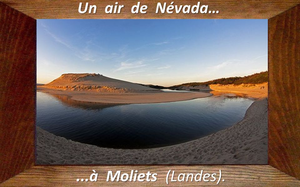Un air de Névada… ...à Moliets (Landes).