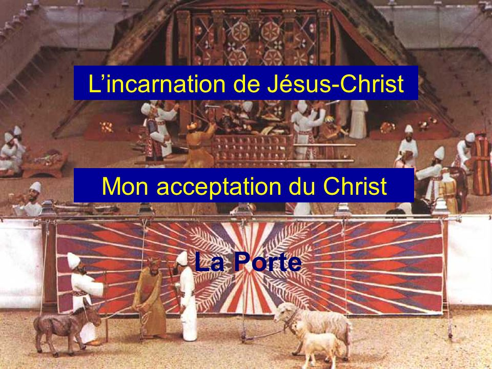 L'incarnation de Jésus-Christ