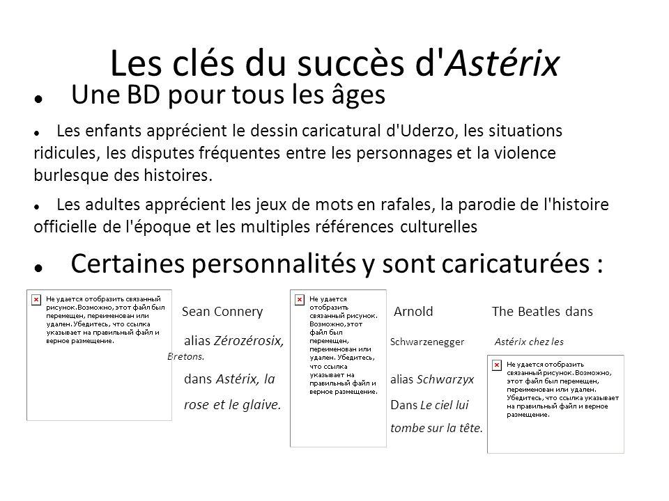 Les clés du succès d Astérix