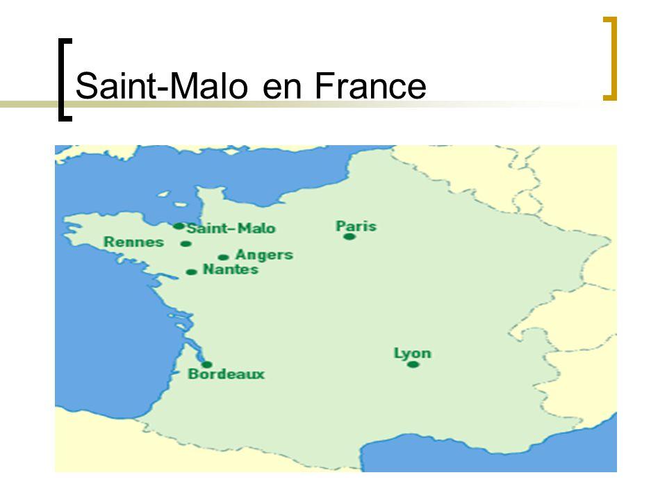 Saint-Malo en France