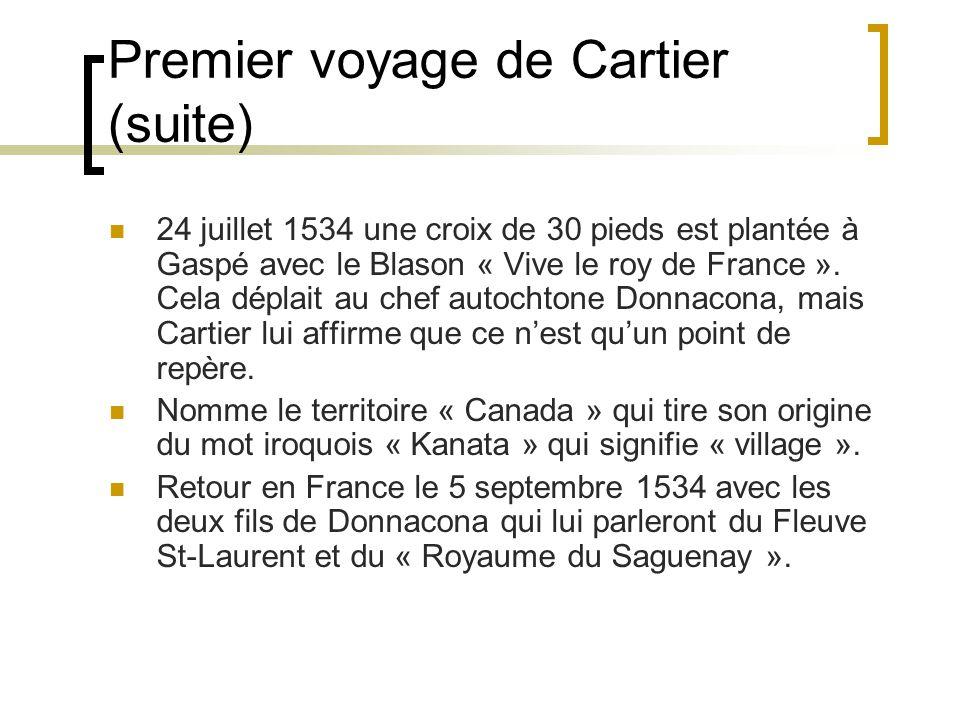Premier voyage de Cartier (suite)