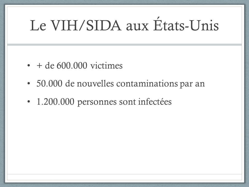 Le VIH/SIDA aux États-Unis