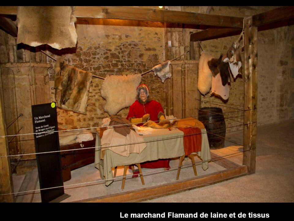 Le marchand Flamand de laine et de tissus