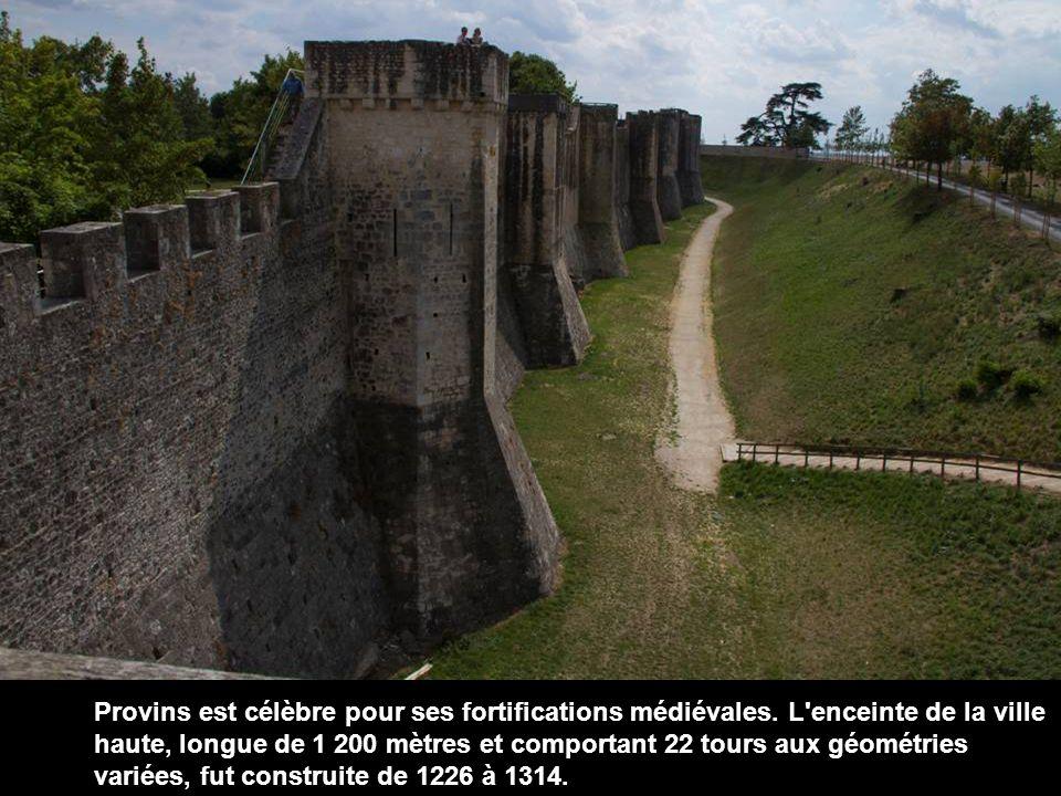 Provins est célèbre pour ses fortifications médiévales