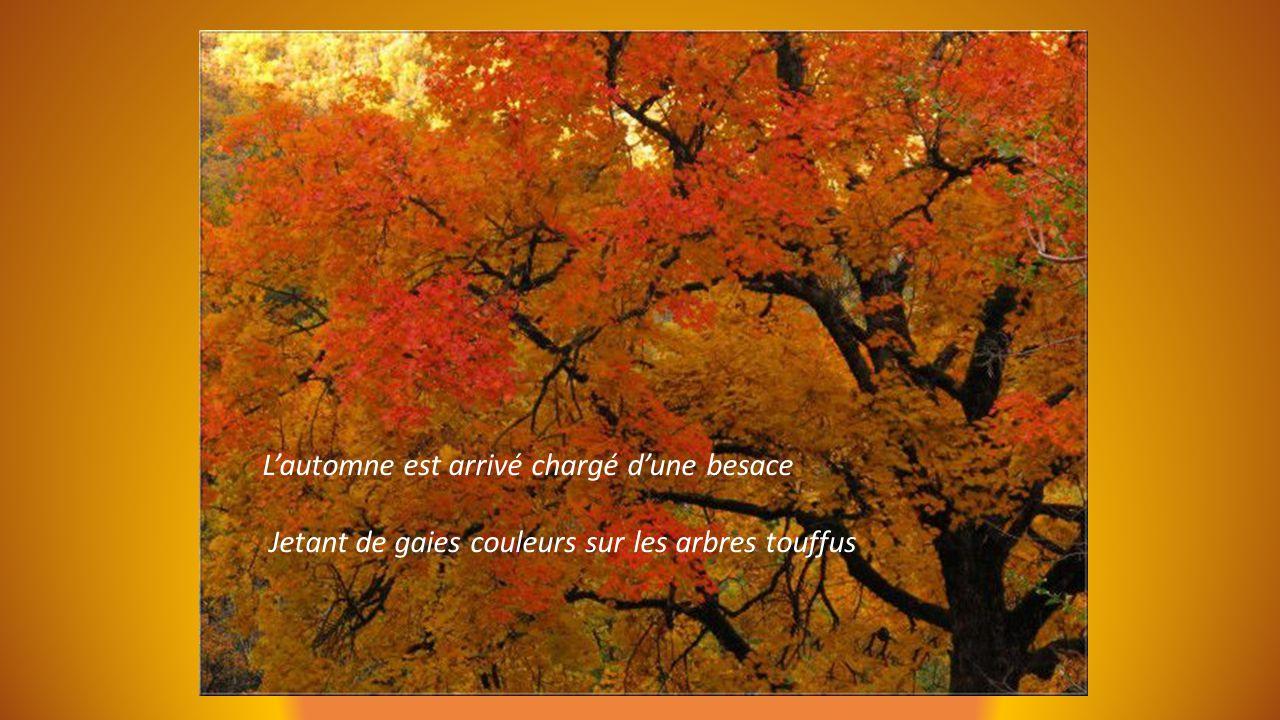 L'automne est arrivé chargé d'une besace