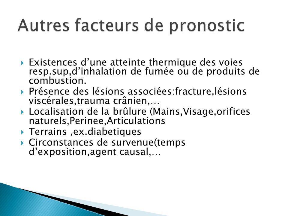 Autres facteurs de pronostic