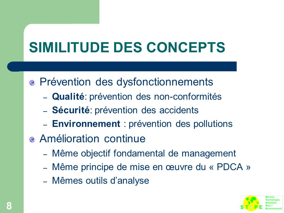 SIMILITUDE DES CONCEPTS