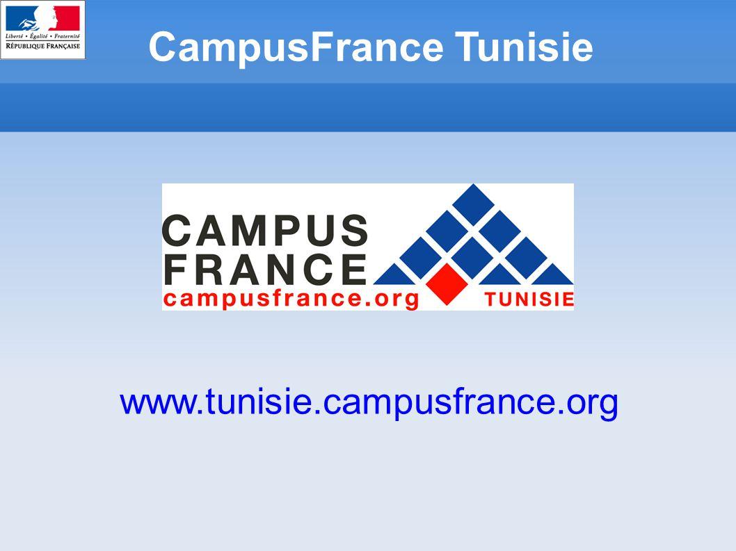 CampusFrance Tunisie www.tunisie.campusfrance.org
