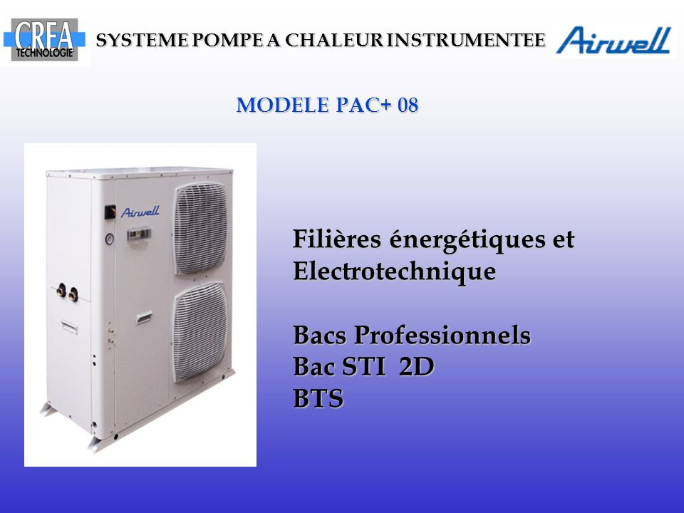 Filières énergétiques et Electrotechnique