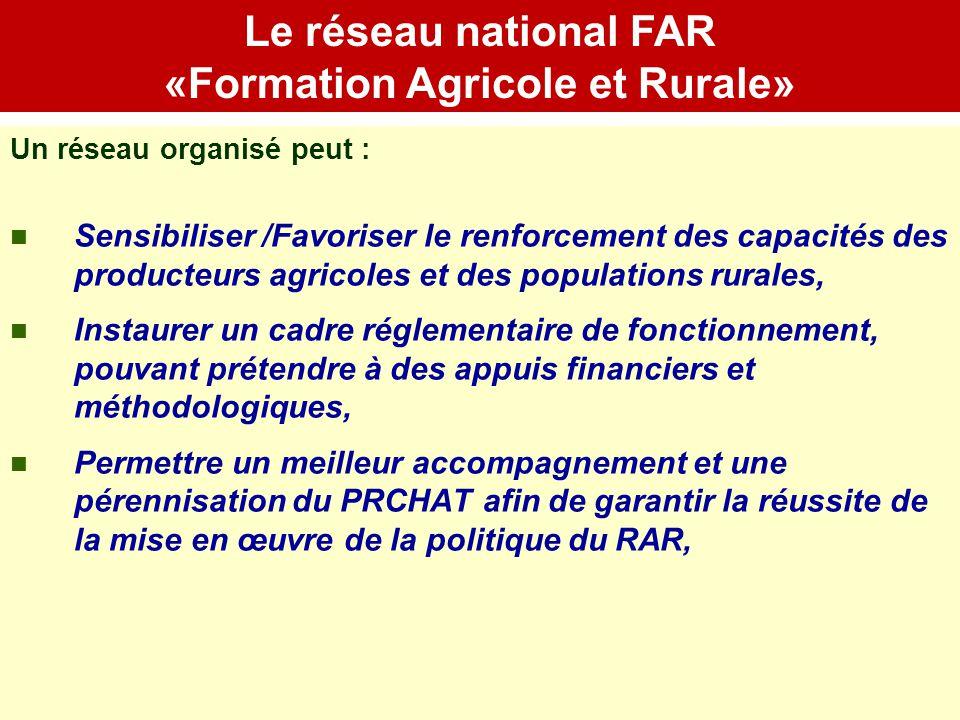 «Formation Agricole et Rurale»