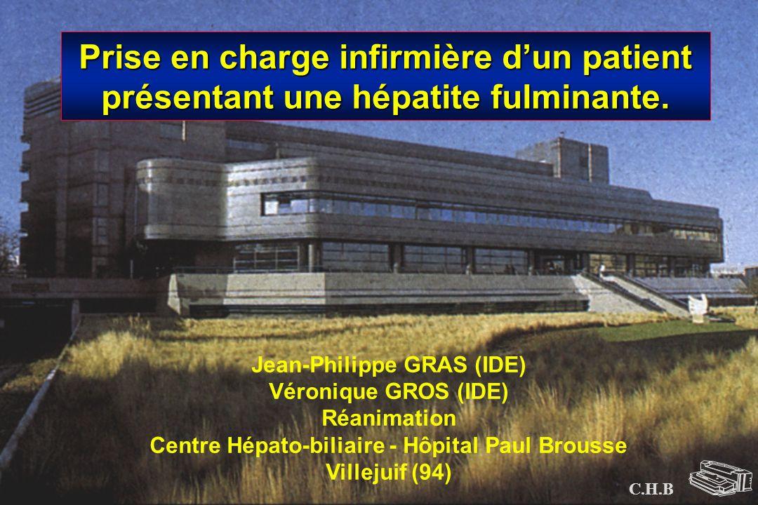 Jean-Philippe GRAS (IDE) Centre Hépato-biliaire - Hôpital Paul Brousse