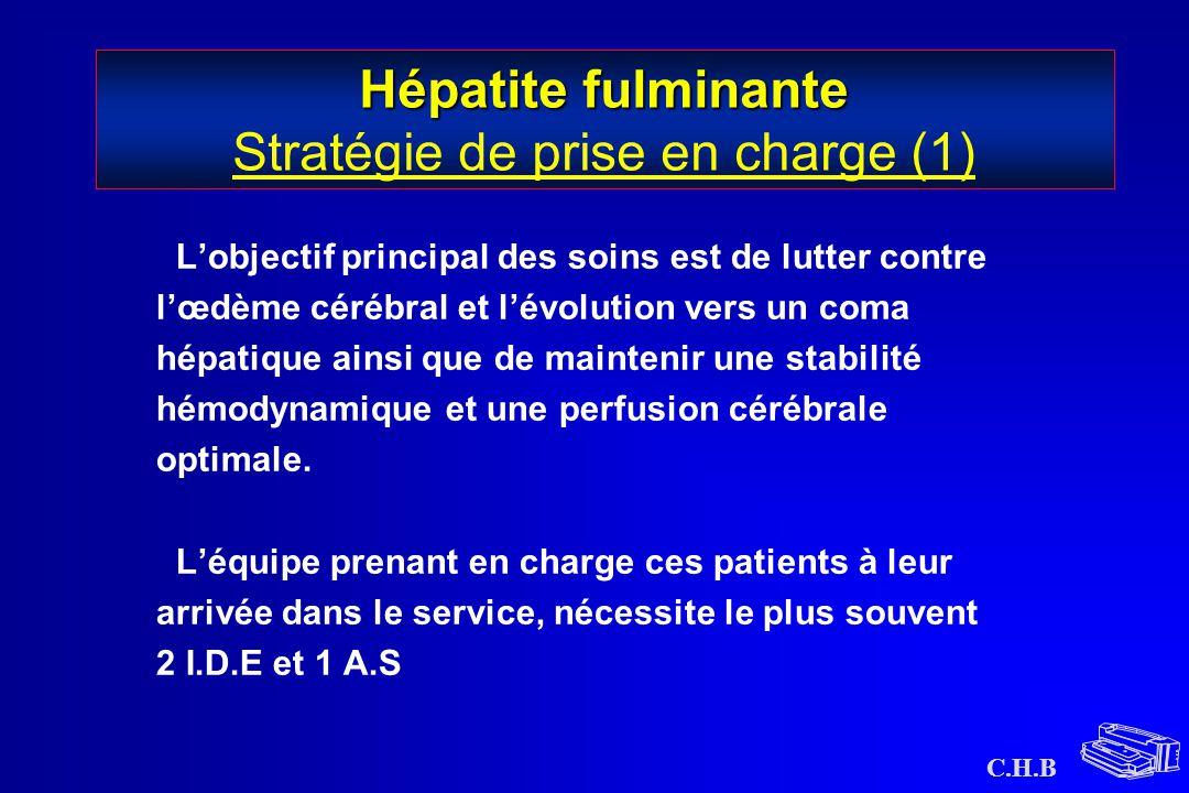 Hépatite fulminante Stratégie de prise en charge (1)