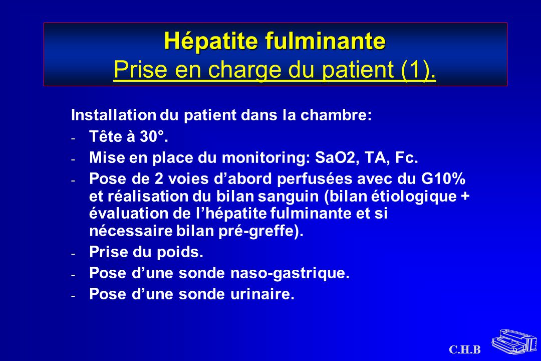 Hépatite fulminante Prise en charge du patient (1).