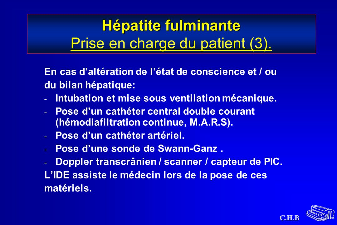 Hépatite fulminante Prise en charge du patient (3).