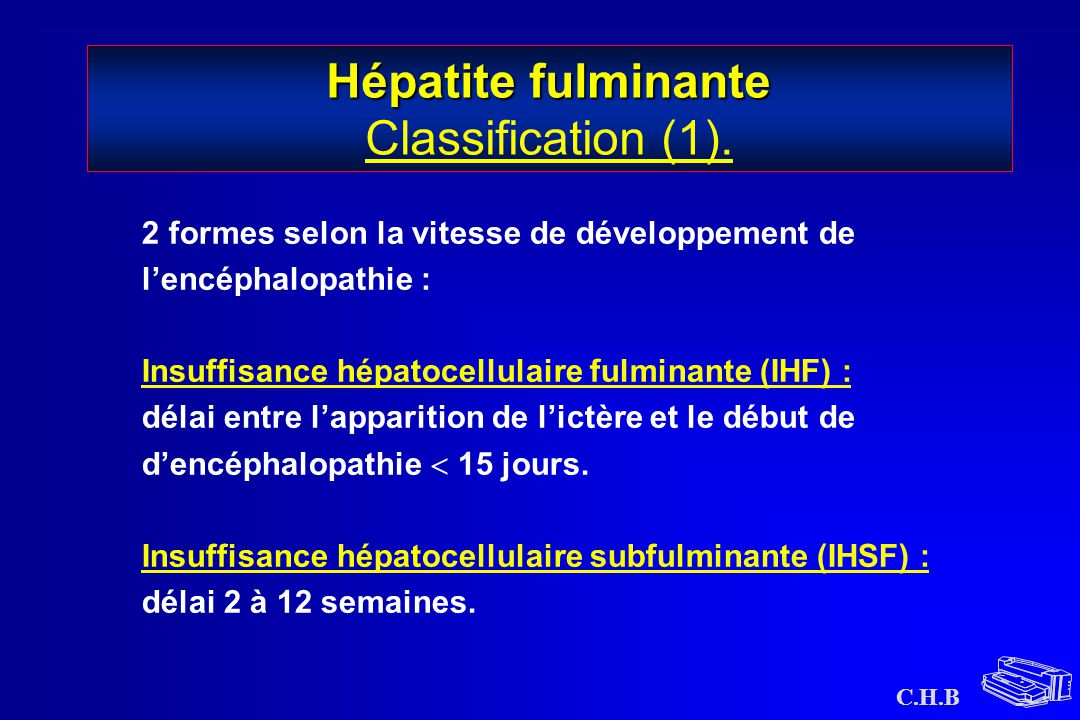 Hépatite fulminante Classification (1).