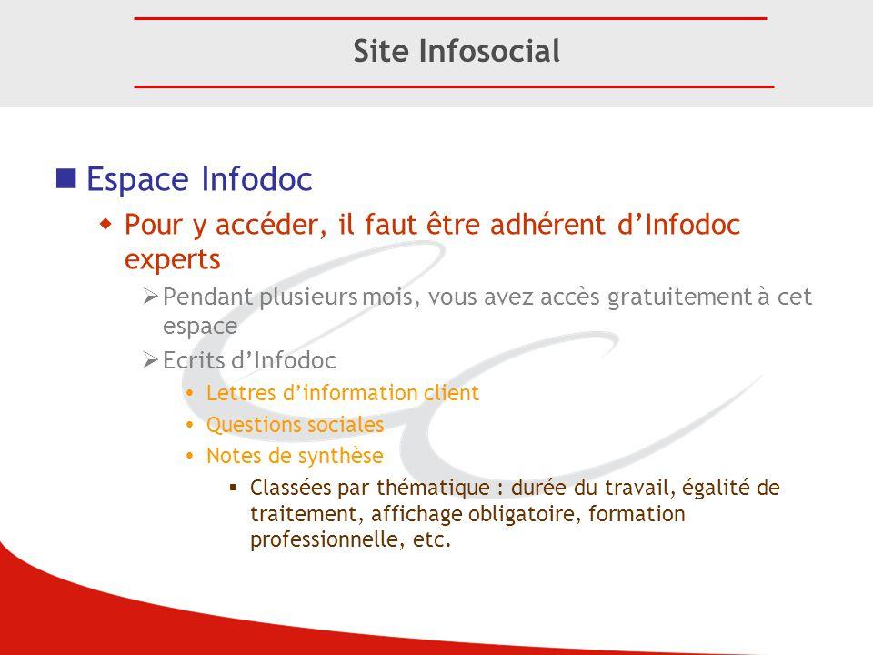 Espace Infodoc Site Infosocial