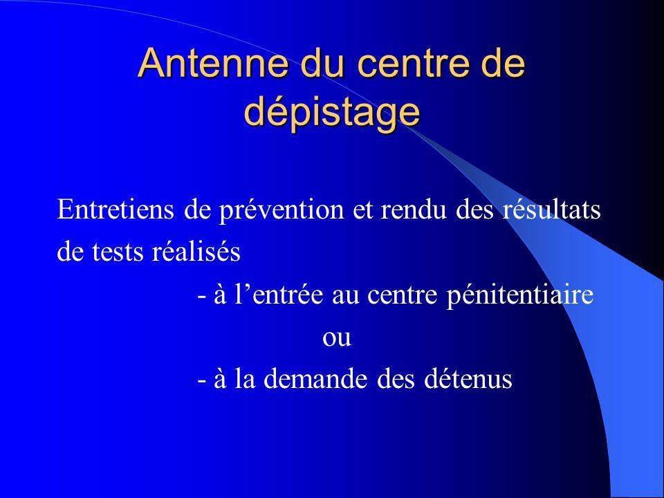 Antenne du centre de dépistage