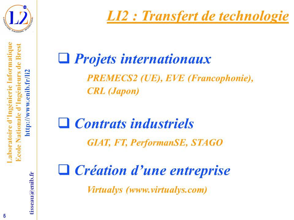 LI2 : Transfert de technologie
