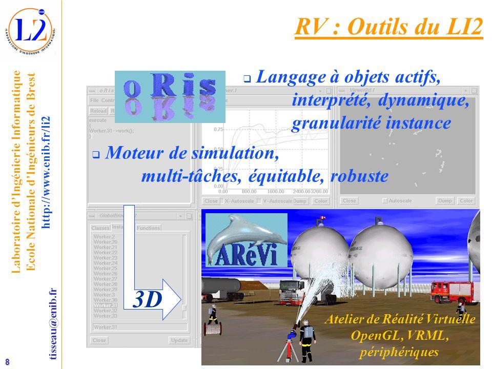 Atelier de Réalité Virtuelle OpenGL, VRML,