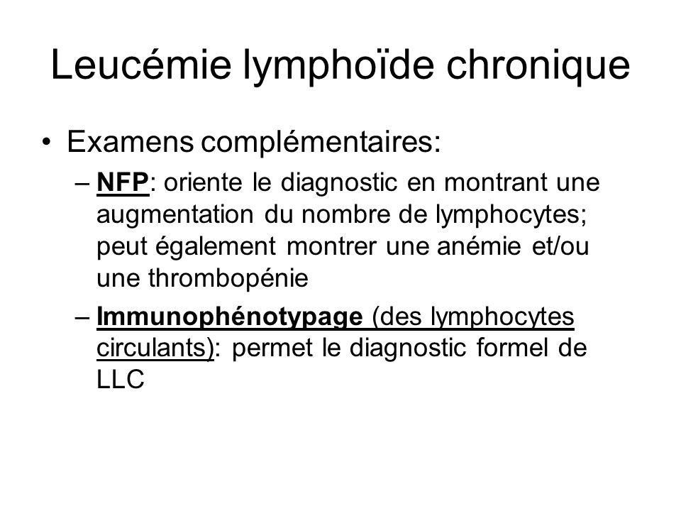 Leucémie lymphoïde chronique
