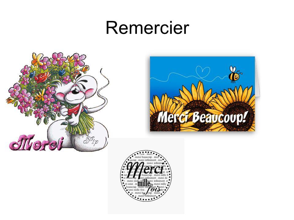 Remercier