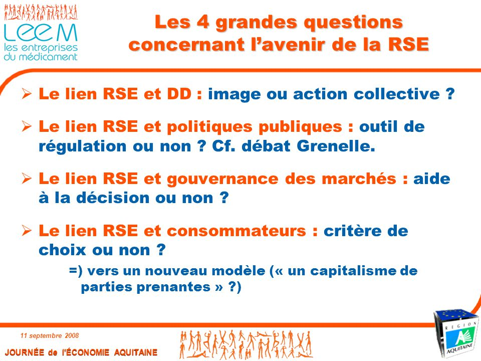 Les 4 grandes questions concernant l'avenir de la RSE