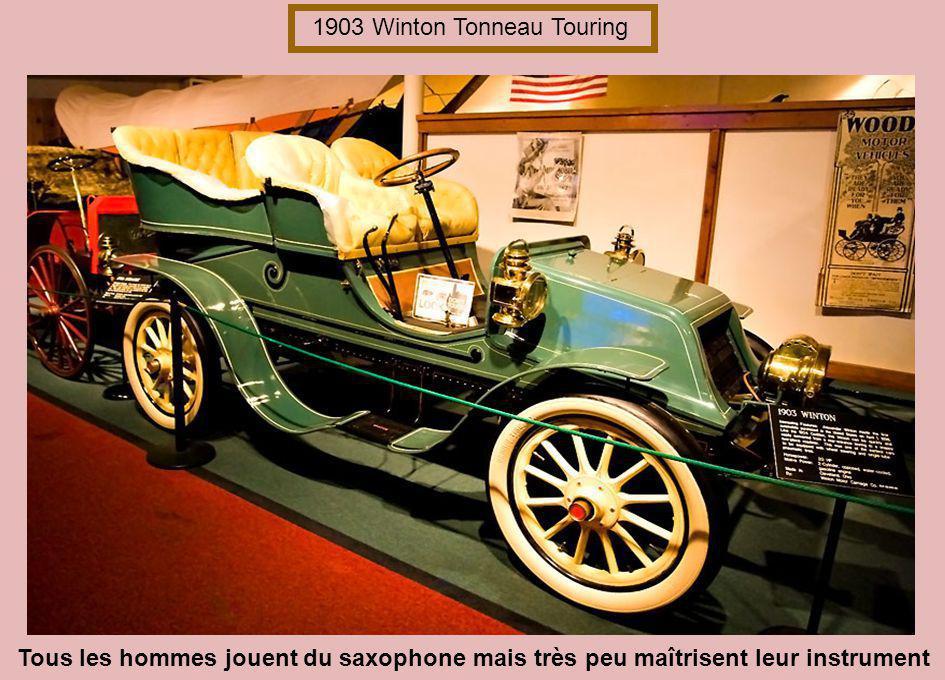 1903 Winton Tonneau Touring