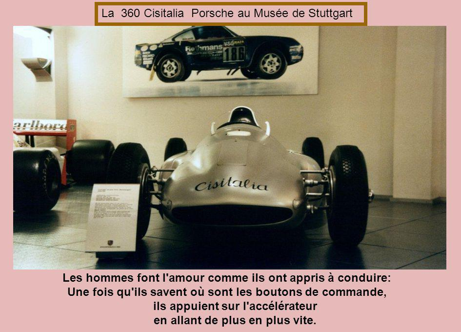La 360 Cisitalia Porsche au Musée de Stuttgart