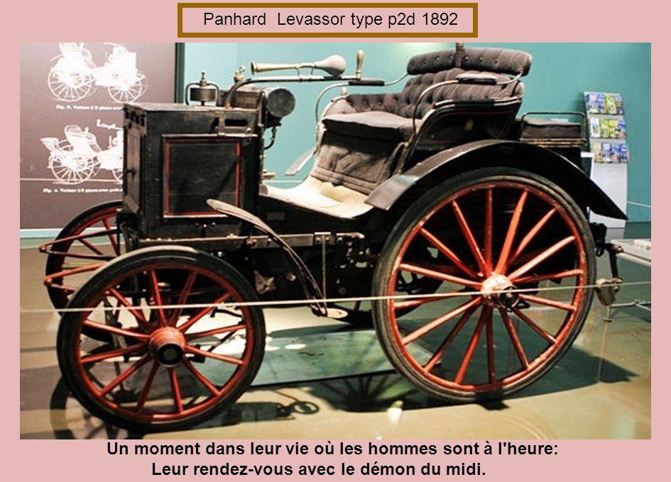 Panhard Levassor type p2d 1892