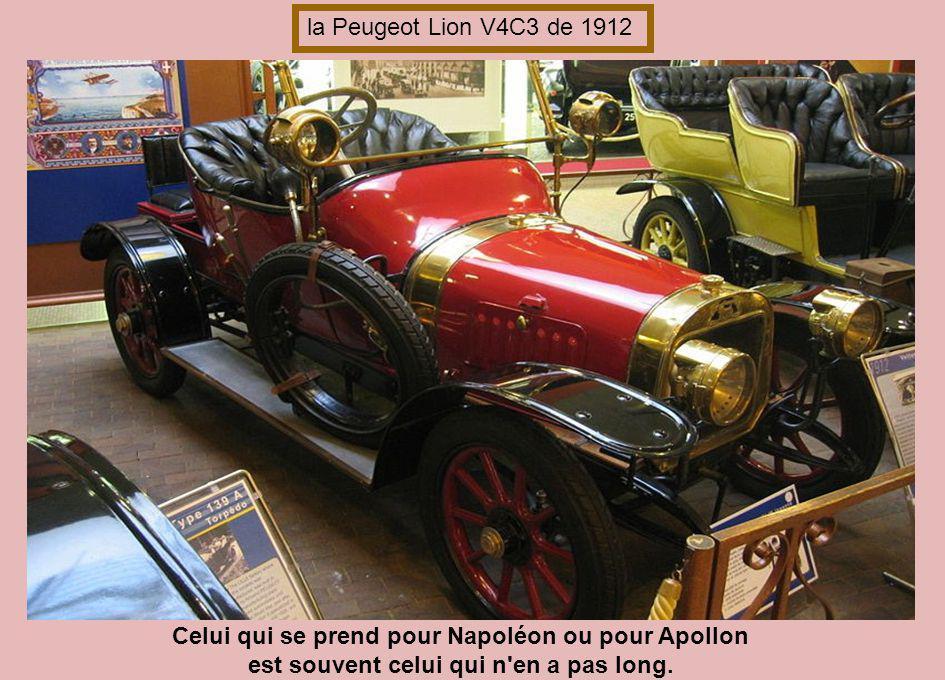 Celui qui se prend pour Napoléon ou pour Apollon