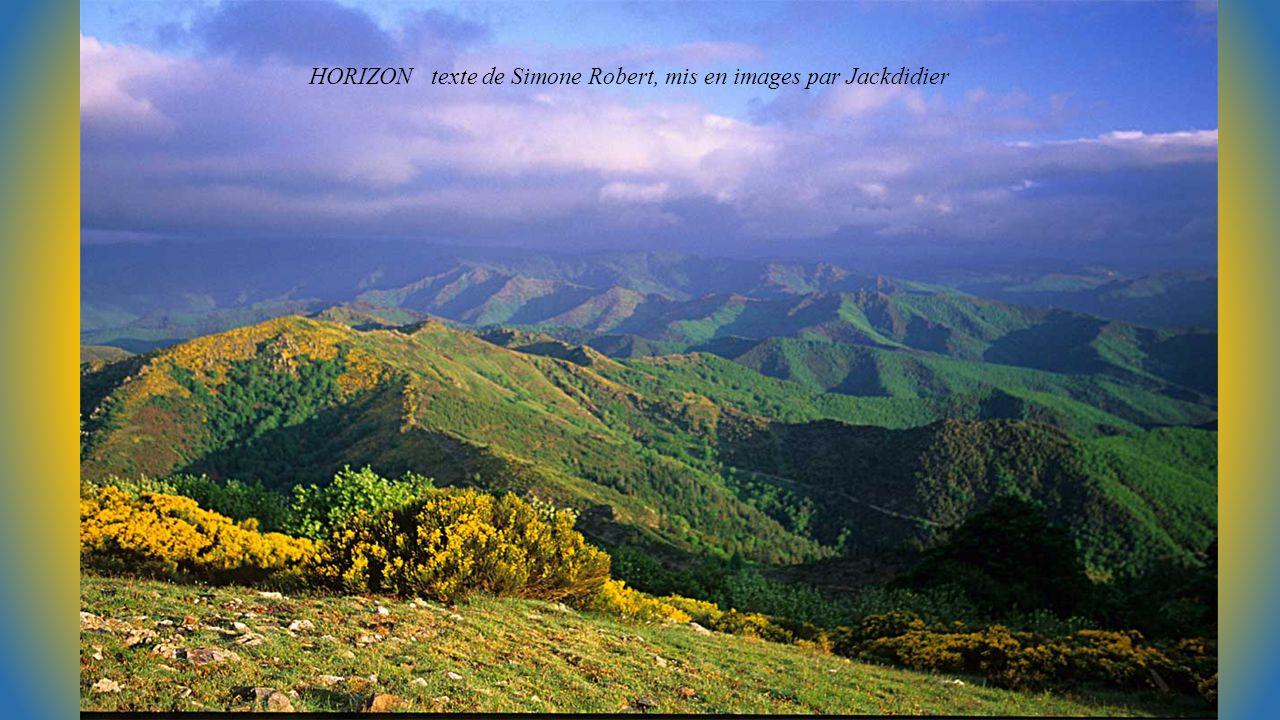 HORIZON texte de Simone Robert, mis en images par Jackdidier