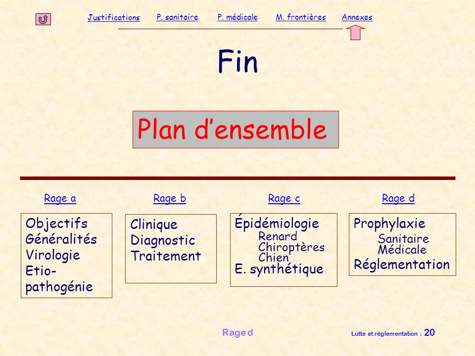 Fin Plan d'ensemble Objectifs Généralités Virologie Etio-pathogénie