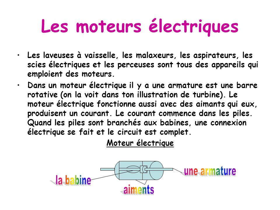 Les moteurs électriques