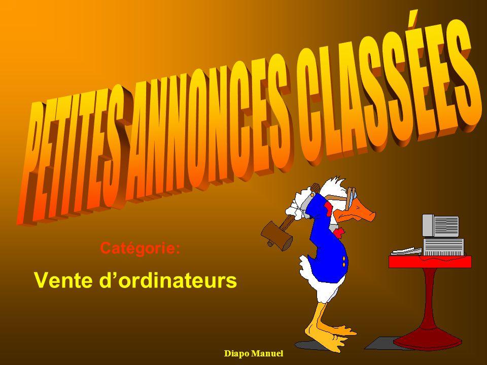 PETITES ANNONCES CLASSÉES