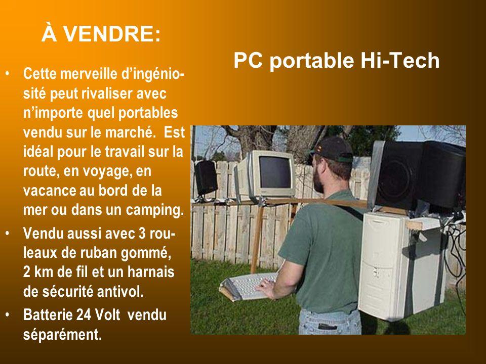 À VENDRE: PC portable Hi-Tech