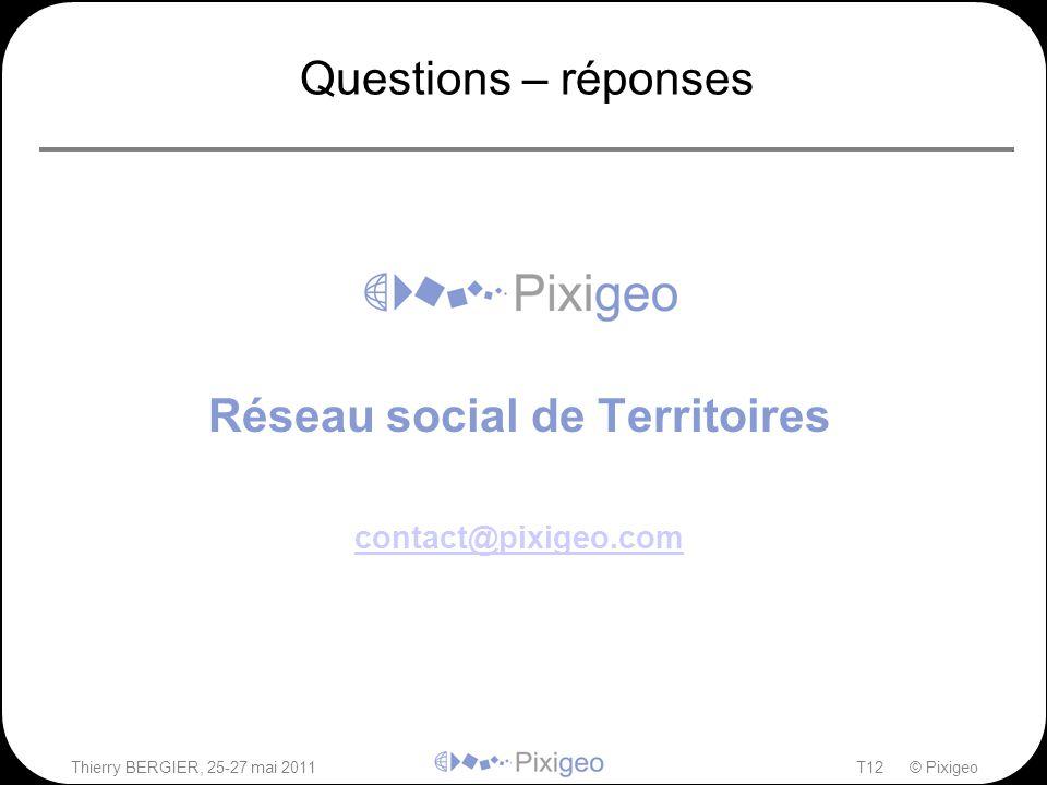 Réseau social de Territoires contact@pixigeo.com