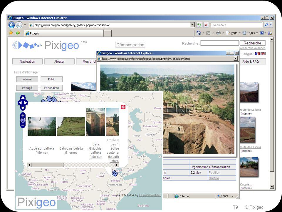Quelques vues d'écran Thierry BERGIER, 25-27 mai 2011