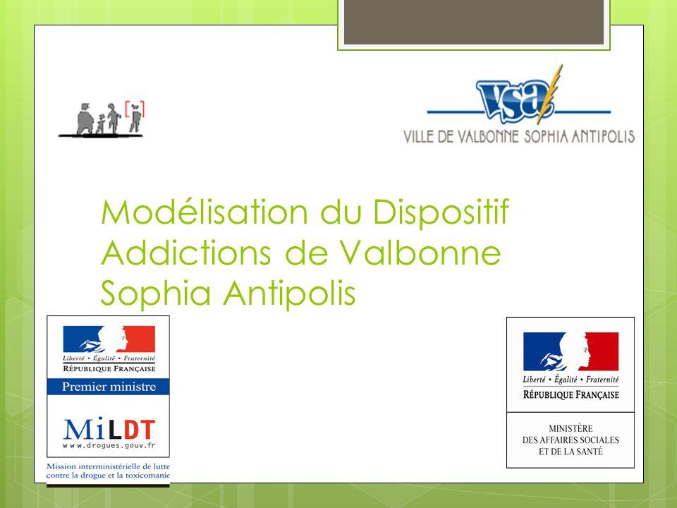 Modélisation du Dispositif Addictions de Valbonne Sophia Antipolis