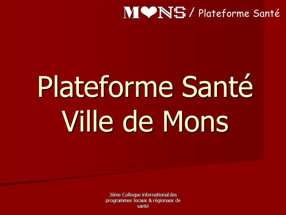 Plateforme Santé Ville de Mons