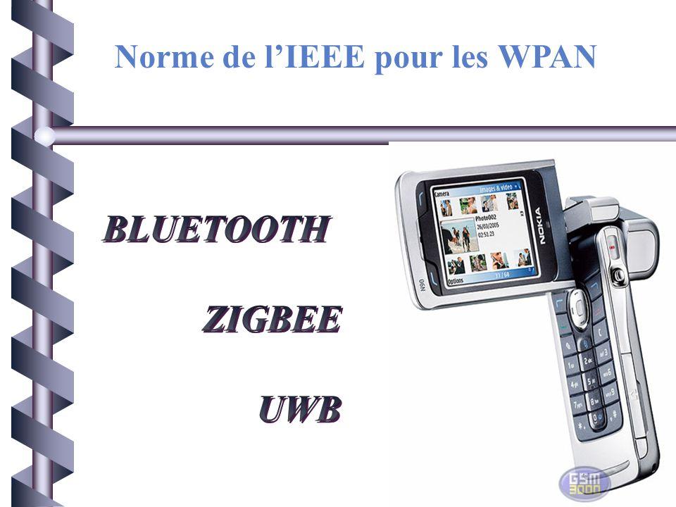 Norme de l'IEEE pour les WPAN