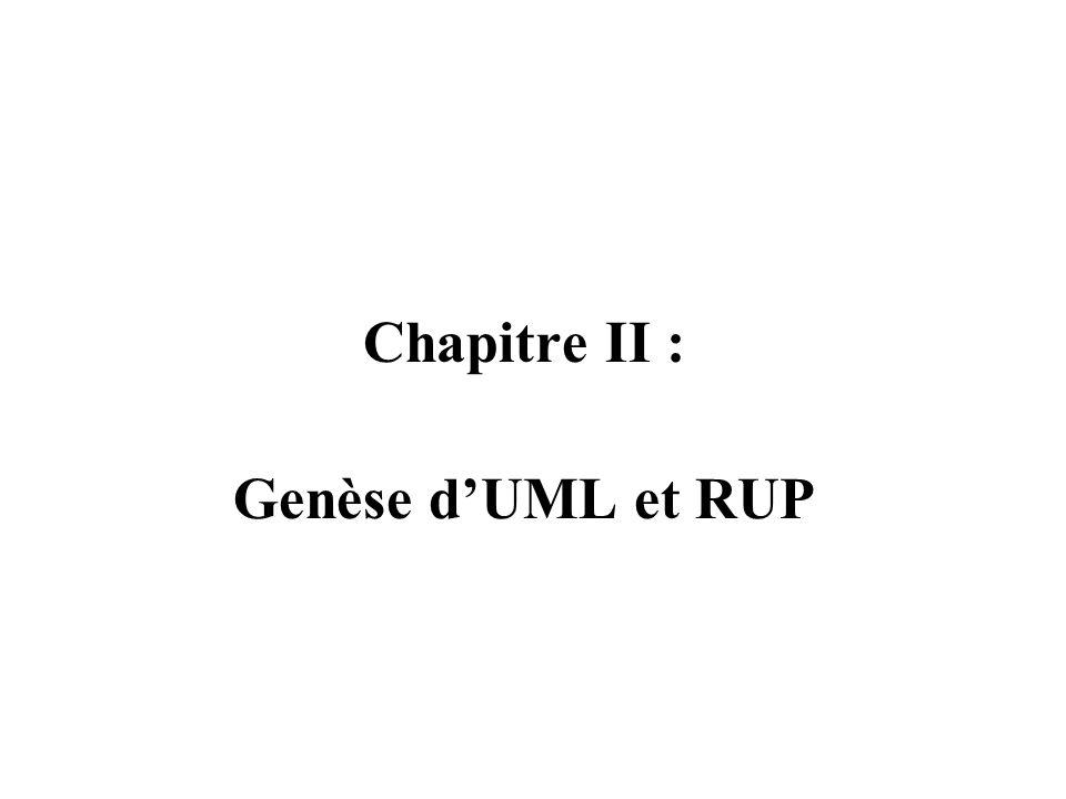 Chapitre II : Genèse d'UML et RUP