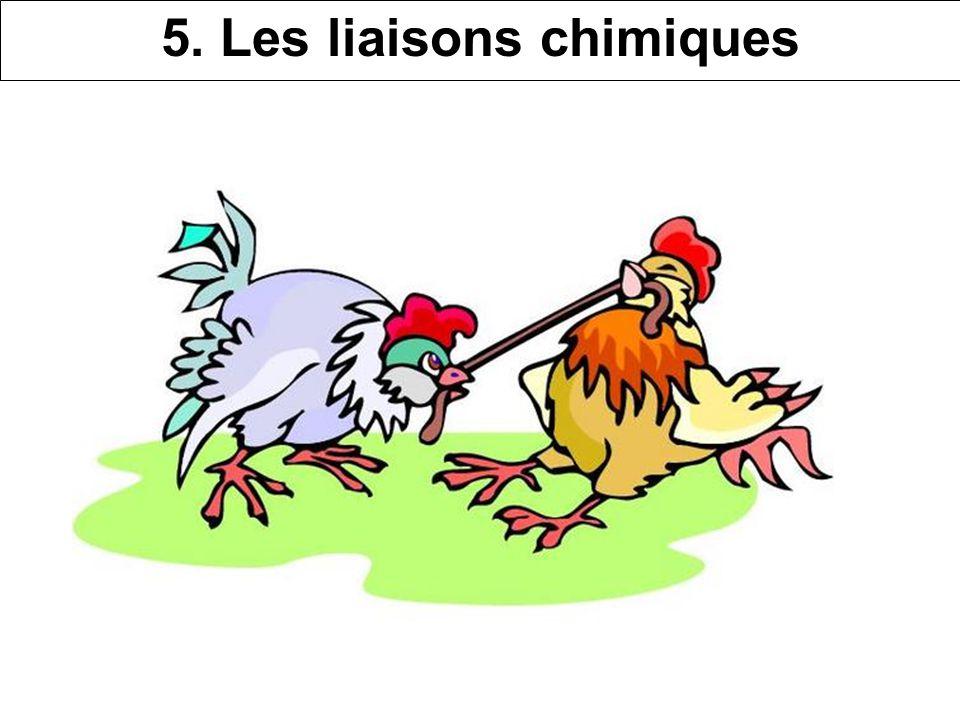 5. Les liaisons chimiques