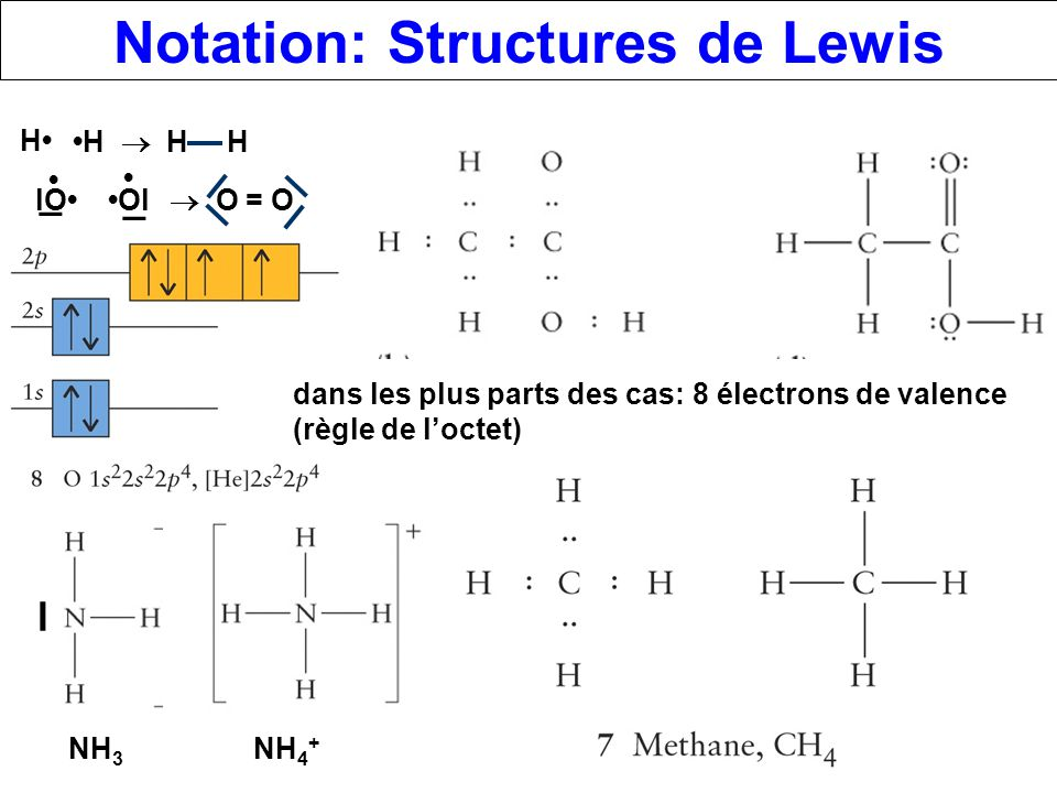 Notation: Structures de Lewis